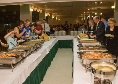 The Park Ballroom - Wedding Meal Buffet 8418
