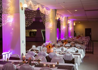 The Park Ballroom - Wedding decorations 3